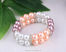 Artificial Pearl Handmade Bracelet for party