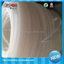 OEM Eco-friendly elastic silicone rubber tube FDA,LFGB silicone hose 8mm
