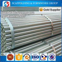 Construction materials black steel pipe / gi pipe green house with best price