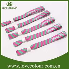 custom cheap printed party waterproof tyvek wristbands