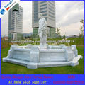 white marble fountain for garden decoration