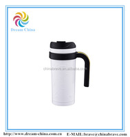 stainless steel thermos travel mug, water bottle 500ml with handle