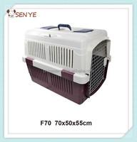 Plastic colors pet dog carrier pet flight cage for sale cheap