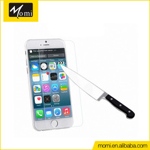 Oil pollution prevention 0.4 mm film de verre tempered glass screen protector for iphone 6/iphone 6 plus/iphone 6s