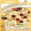 puro y natural verde de la salud base de sopa de alimentos buenos para la salud de las articulaciones