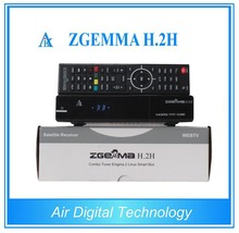 Zgemma H.2S dual core original enigma2 linux OS Twin tuner plus IPTV with SD more than 8GB memory