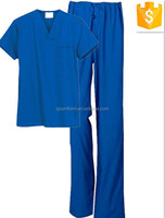 Medical Nursing Uniform Scrub Top & Pant For Hospital Doctor