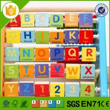 Innovative exported educational wooden alphabet blocks