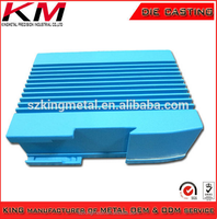 OEM Manufacturer aluminum alloy die casting communication box shell