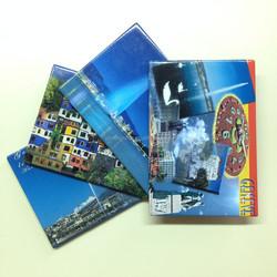 Promotional tinplate fridge magnet ,magnet sticker for souvenir