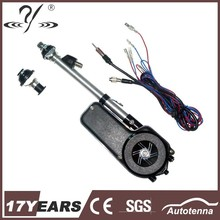 New design stainless steel electric car antenna