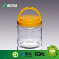 PET Special Handle Plastic Container Transparent