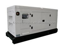 CE Approved Silent type AC 3 Phase Water cooling 28kw 35kva Kubota piezo electric generator