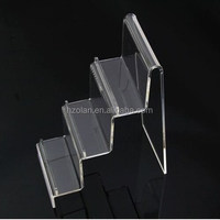 transparent acrylic wallet jewelry display stand holder show caraft rack general