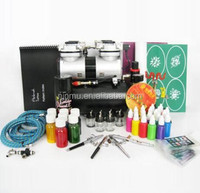 Cheap Nail Art Tattoo Airbrush Makeup Kit With Compressor For Body Painting &Nail Beauty Makeup