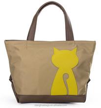 Korean style animal women clutch bags made of nylon