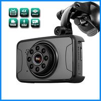 FHD car DVR, G-sensor dash cam car dvr gps radar detector