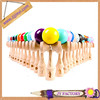 Wholesale wooden kendama toy beech wood kendama usa solid color kendama