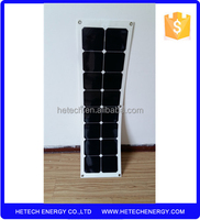 High efficient thin film flexible photovoltaic solar panel 50w roofing system