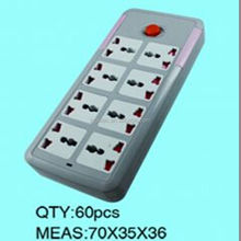 Hot sale in the Middle East 220V-250V PC shell electrical outlet extension