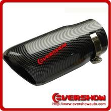 car carbon fiber exhaust muffler