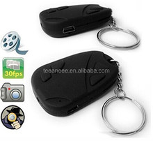 Mini Keychian Camera Hidden camera 808 car keys micro camera