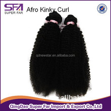 unprocessed wholesale virgin peruvian hair 6a grade afro kinky curly hair weave