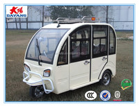 2015 new hot sale800w closed electric passenger three wheeler trike for sale