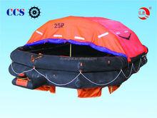 Solas CCS and EC inflatable life raft equipment