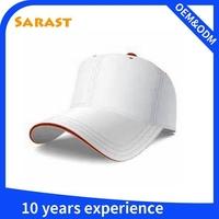 thin fabric high profile summer sports cap