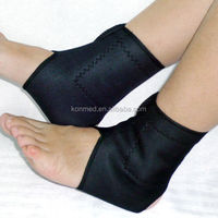 Tourmaline ankle support pad for blood circulation,self heating magnetic therapy