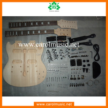 GK012 Cheap Double Neck Electric guitar kits