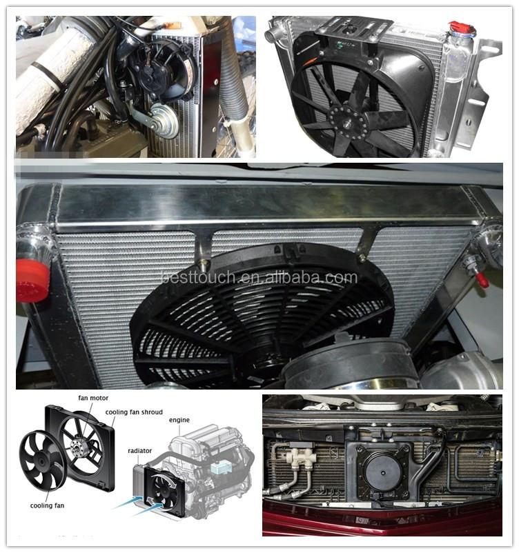 Управление вентилятором радиатора автомобиля