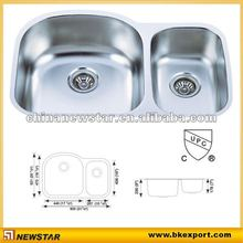 stainless steel water trough