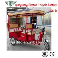 850w Best Battery Rickshaw Three Wheeler For Passenger