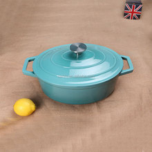 Iron casting enamel tureen ceramic cookware
