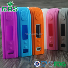 Manufacturer 2015 new arrival sx mini M class silicone case/mod/box/sleeve, anti slip non slip 100% food grade colorful mod box
