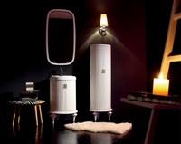 cylindrical shape bathroom cabinet,Wash basin cabinet,Waterproof storage cabinet