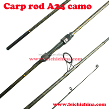 Camo color coating fishing carp rod
