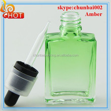 china flat red glass bottle euro dropper 1oz e juice bottle