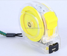 Super resistance to fall off the Transparency steel measuring tape