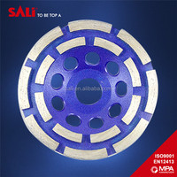 All type 7mm segment size double row diamond grinding wheel