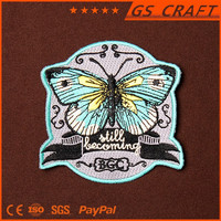 Custom made cheap sale good quality butterfly patch