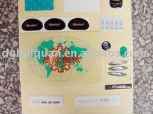 Crystal Epoxy Adhesive Label