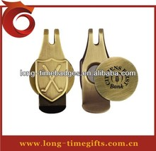 Golf hat clip and ball marker sets