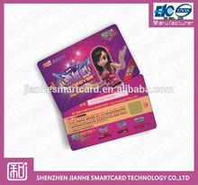 contact/proximity card programmable pvc card