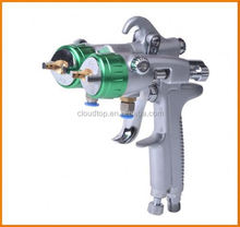 2015 best on sales electronic system level two head double nozzle gun