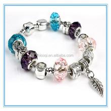 2015 New arrival HOT cool DIY beads snake chain bracelet