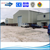 wide span galvanized steel frame workshop and warehouse and building and shed