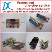 184A015-292L001 D-sub 15 pin connector CON 15POS FEMALE IDC FLAT RIBBON